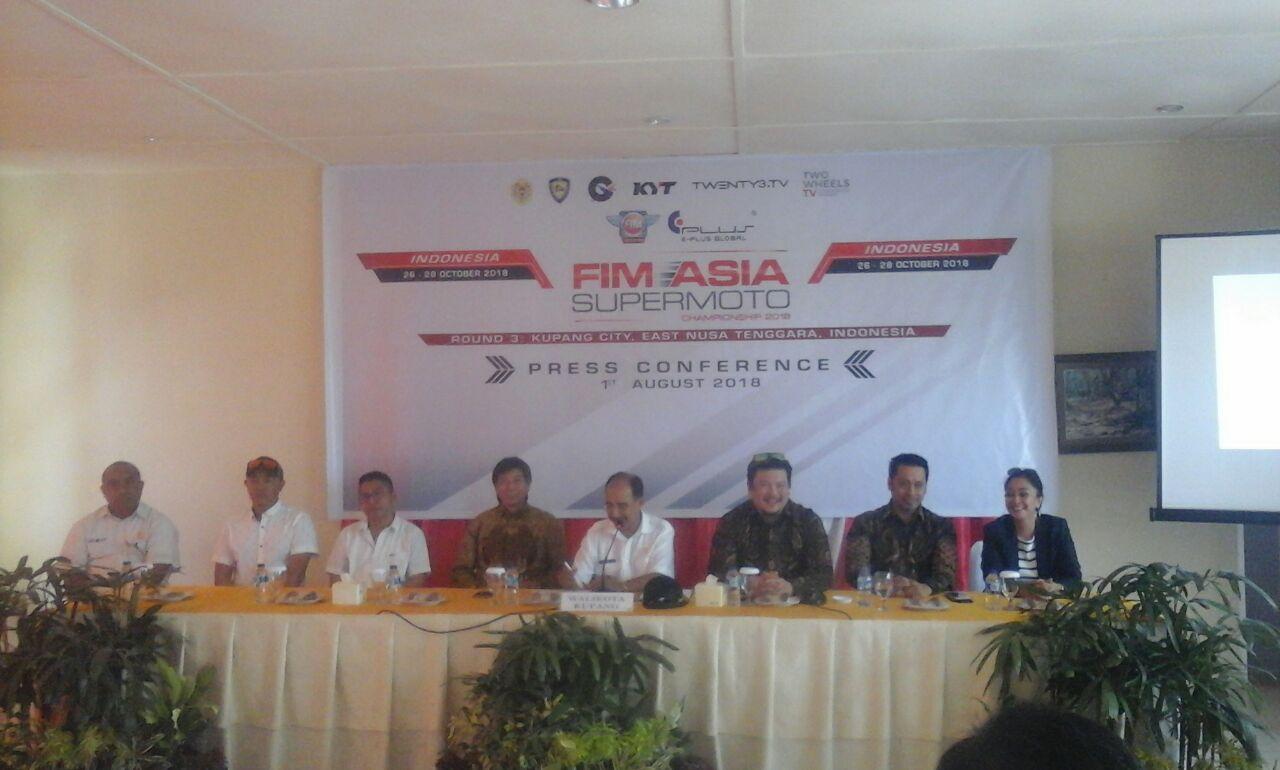 Kota Kupang Jadi Tuan Rumah Putaran Ketiga FIM Asia SuperMoto 2018