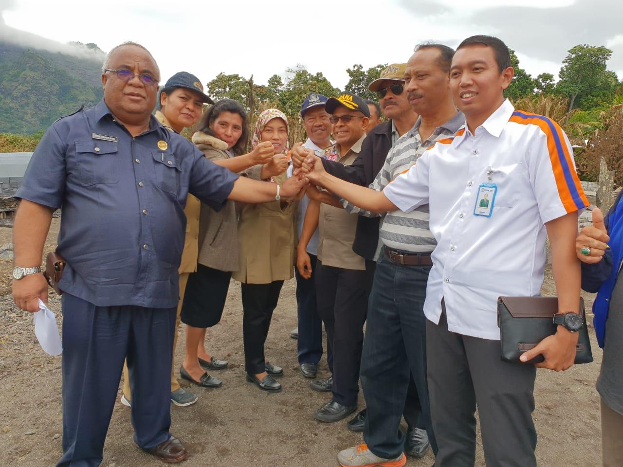 Kemensos RI Akan Salurkan Bantuan Pembangunan Rumah Korban Kebakaran Gurusina