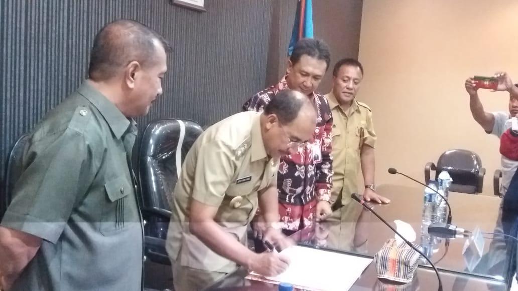 Pemerintah Kota Kupang Terima Bantuan CSR dari Bank NTT