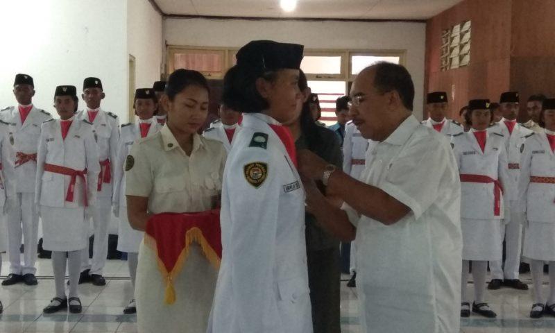 Walikota Kukuhkan Paskibraka Tingkat Kota Kupang