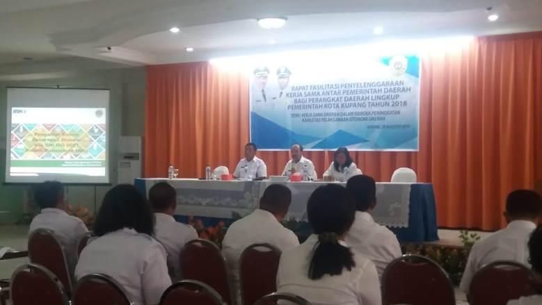 Walikota Kupang : OPD Harus memiliki Kreatifitas