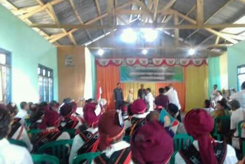Plt. Bupati Ngada Sampaikan Hal Ini Dalam Peresmian Peningkatan Puskesmas Radabata