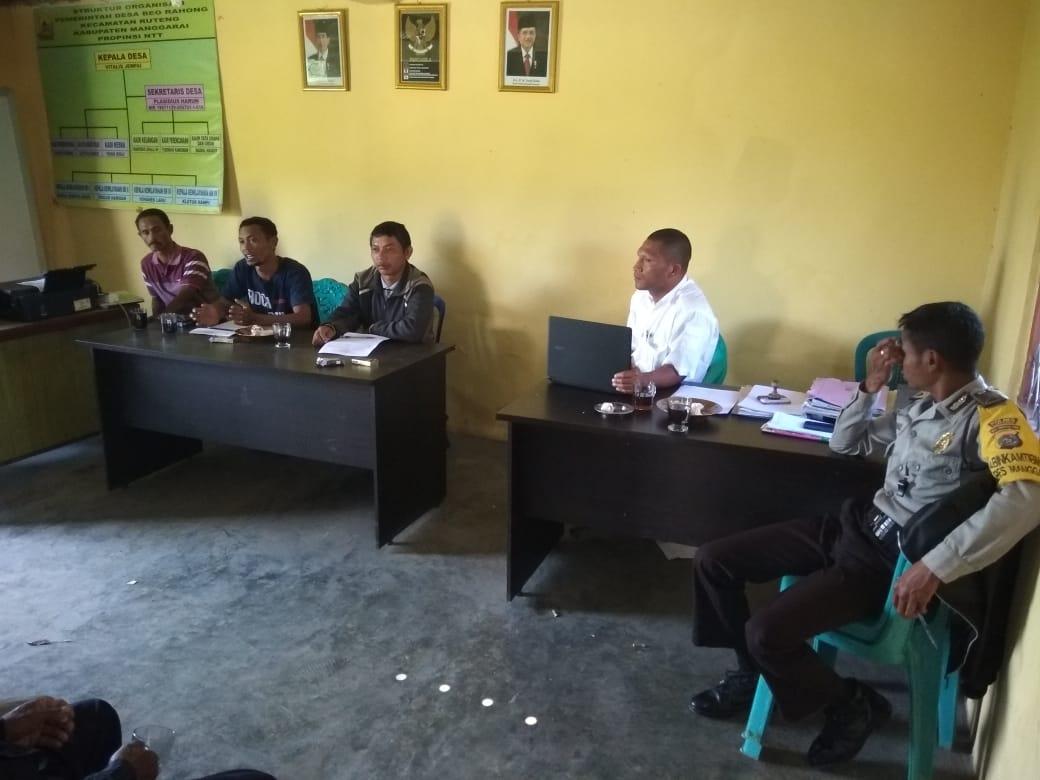 BPD Desa Beo Rahong Melaksanakan Rapat Perencanaan Mekar Desa