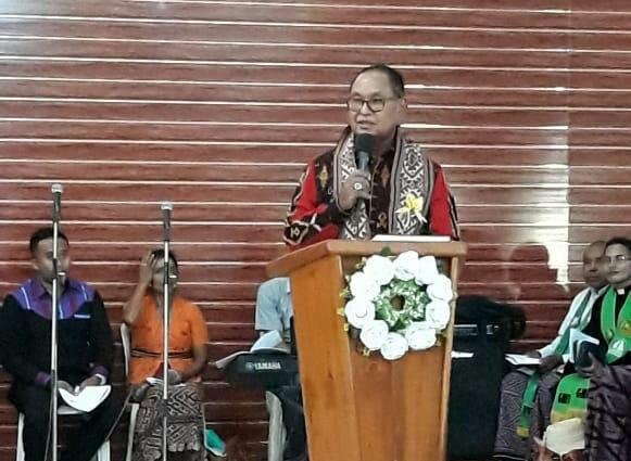 Wakil Gubernur NTT Josef Nae Soi Hadiri Peresmian Gereja Jemaat Betesda Buraen Klasis Amarasi Timur