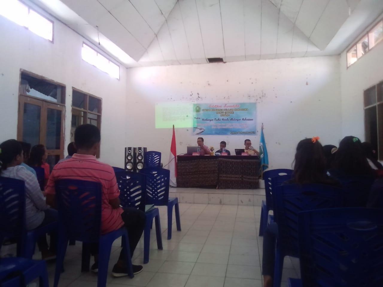 Ikatan keluarga Pelajar Mahasiswa Manus (IKPMM) Kupang Mengadakan Pelatihan Jurnalistik