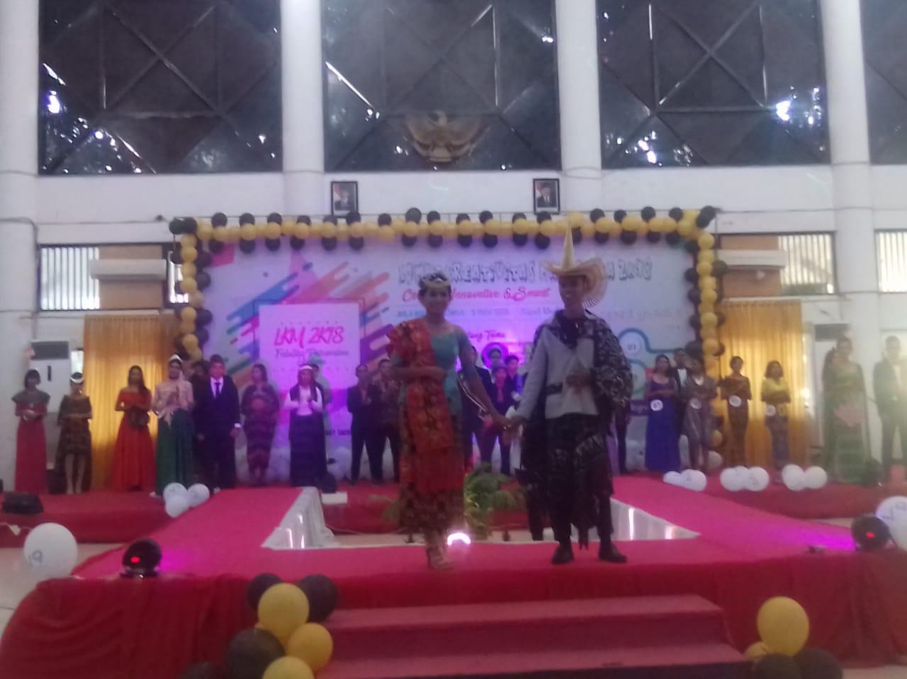 Lexy Nafie dan Anita Sodak Terpilih Jadi Duta Mahasiswa Peternakan Undana 2018