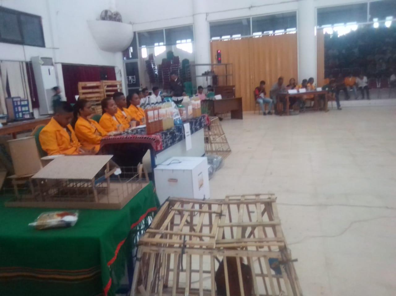Mahasiswa Pamerkan Hasil Kreasi Dalam LKM Fakultas Peternakan Undana