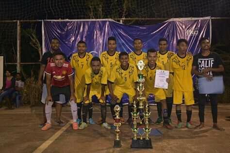 KMK Peternakan Juara 1 Turnament Futsal Kristoforus Cup I Tahun 2018