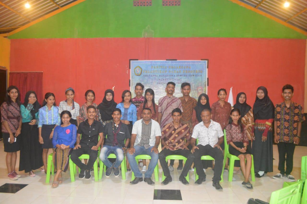 Organisasi Pemuda dan Mahasiswa Lewulun Dilantik Dalam Moment Hari Pahlawan