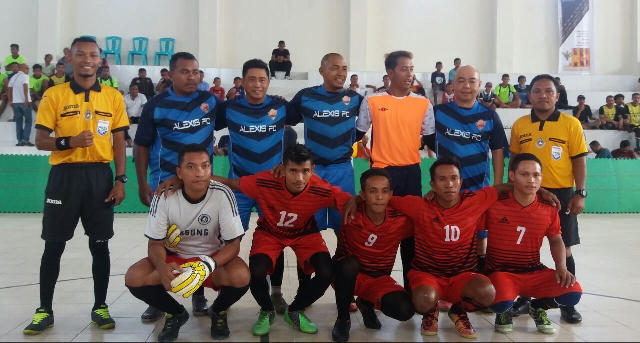 24 Tim Berlaga Pada Turnamen Futsal Danki Brimob Cup I Mabar