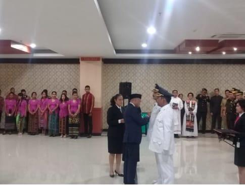 Masyarakat Sumba Tengah Sambut Meriah Kedatangan Bupati dan Wakil Bupati Periode 2018-2023