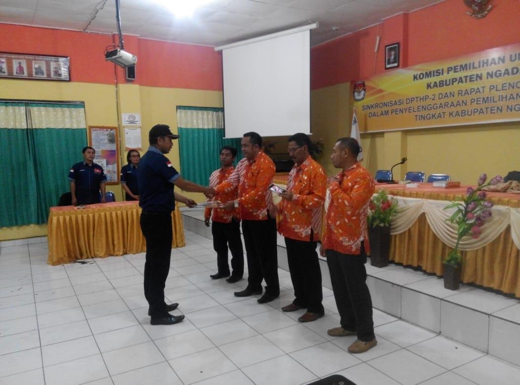 Hasil Pleno Terbuka KPUD Ngada Terkait PDPTHP – 2