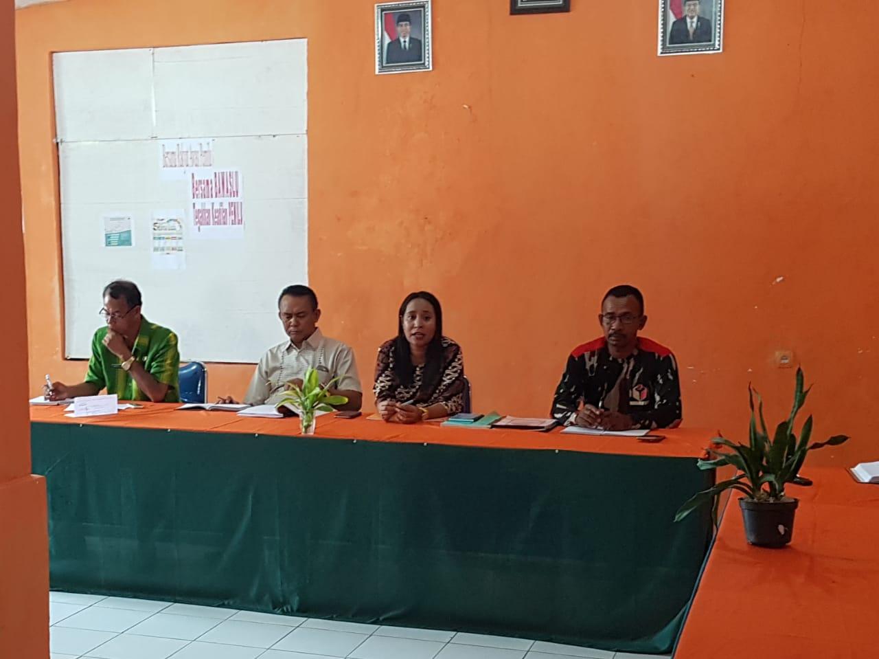 Bawaslu Sumba Barat Gelar Rapat Koordinasi Persamaan Persepsi Terkait Pemasangan APK PEMILU Tahun 2019