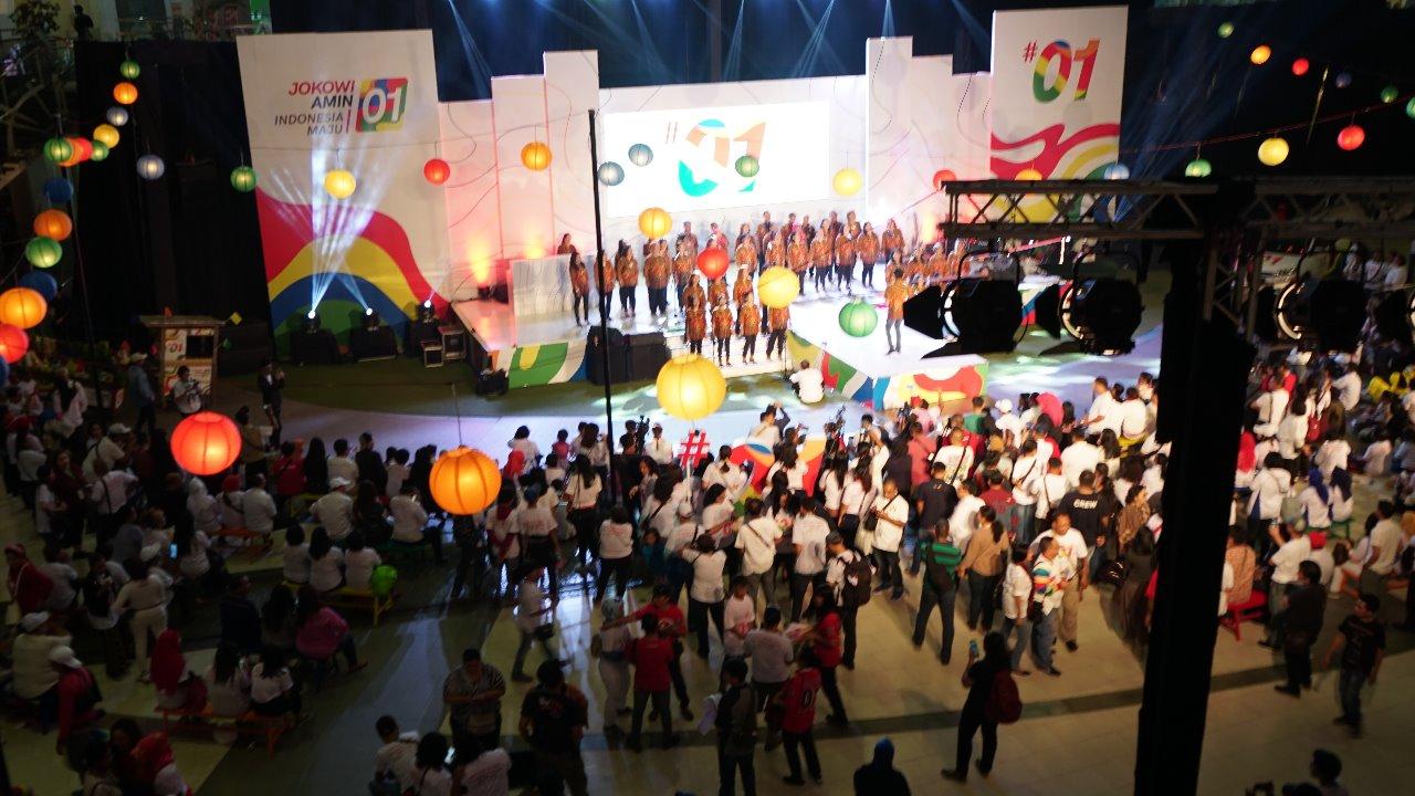 Luncurkan Jokowi App, Rayakan Pemilu dengan Gembira