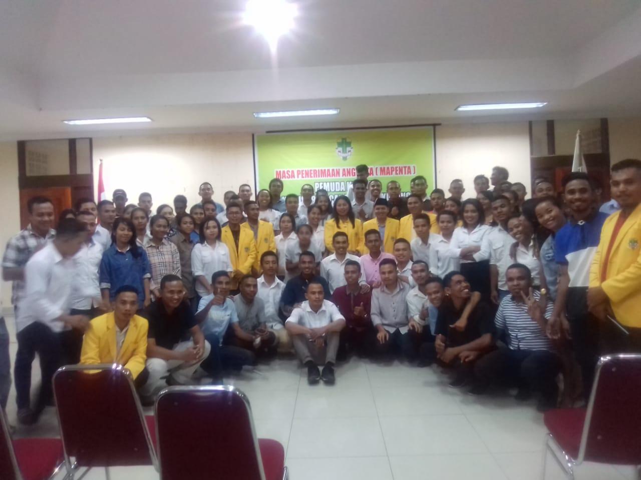 Pemuda Katolik Komcab Kota Kupang Dukung KWI Tolak RUU Pasal 69 -70