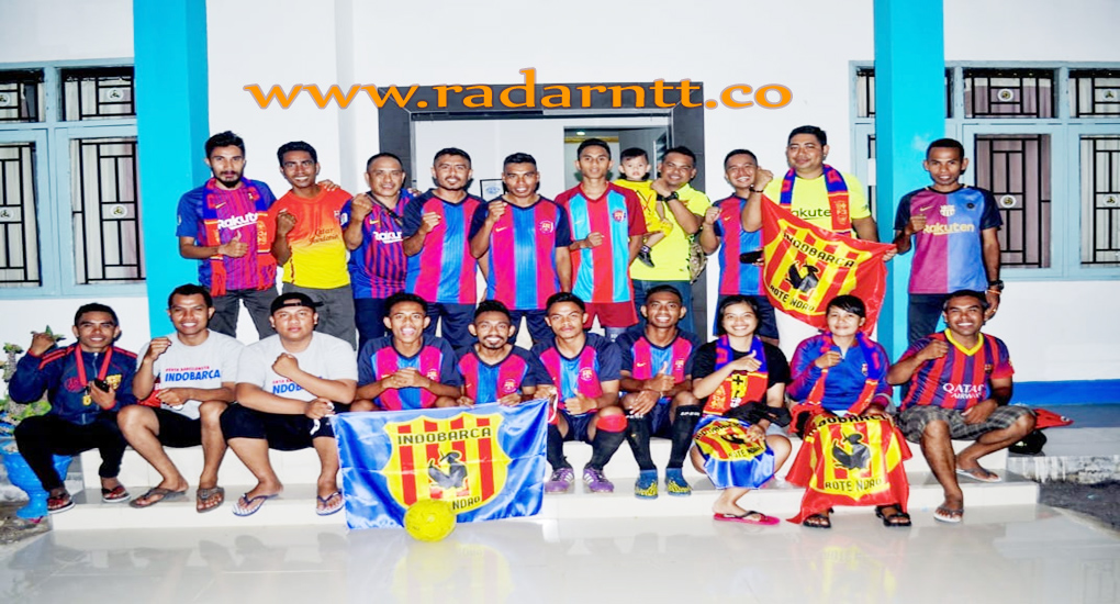 F.C Barca Ronda Resmi Jadi IndoBarca Rote Ndao