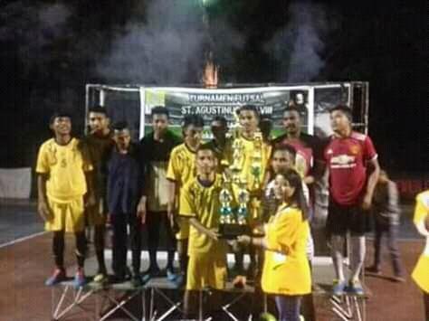 KMK SPM Fapet Undana Juarai Turnamen Futsal St Agustinus Cup VIII 2018