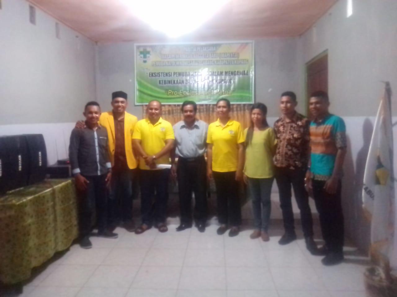 Pemuda Katolik Komisariat Cabang Kabupaten Kupang Terima Anggota Baru