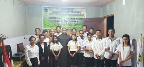 60 Anggota Baru Pemuda Katolik Komisariat Cabang Kabupaten Kupang Resmi Dilantik