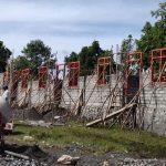 pembanguna Gedung Sekolah SDI Jengkok, Desa Bangka Kantar, Kecamatan Borong-Matim. Bantuan Yayasan Rumping Flores
