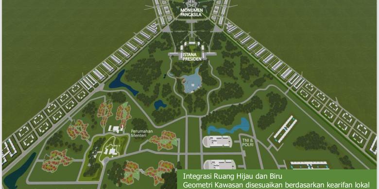 Penajam Paser Utara Dan Kutai Kartanegara Lokasi Ibu Kota Negara Radar Ntt